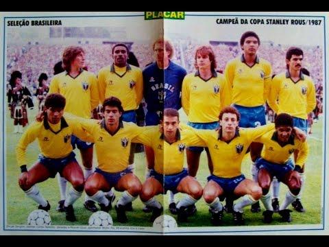 Stanley    Rous   Cup  1987   Scotland    vs   Brazil