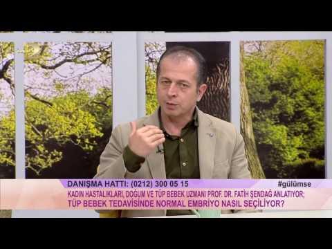 16 03 2017  Derya Baykal'la Gülümse Programı Prof Dr Fatih Şendağ 2. Bölüm