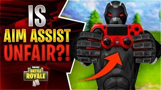 IS AIM ASSIST UNFAIR?! Feat. Dr Lupo (Fortnite Battle Royale)