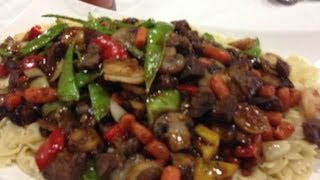 Beef Stir Fry With Orange And Ginger Sauce
