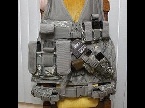 how to make a tactical vest out of cardboard