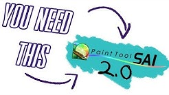 Why You Should Use Paint Tool Sai Version 2!