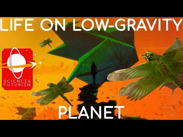 Life on a Low-Gravity Planet