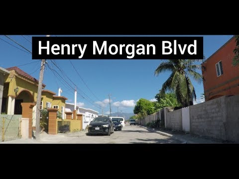 Henry Morgan Boulevard, Port Royal, Kingston, Jamaica