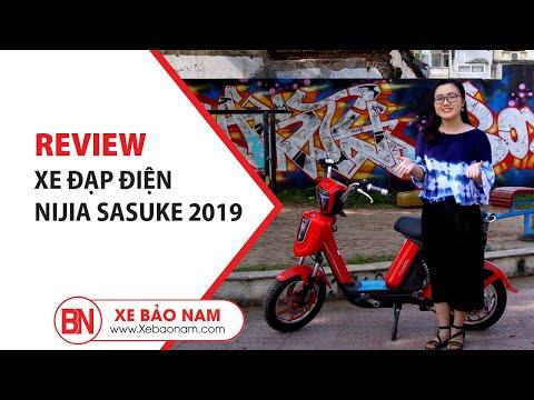 Xe đạp điện Nijia Sasuke 2019 ► Xe đạp điện 2019 Gọn Nhẹ Và đầy Cá Tính