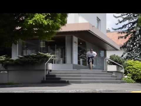 BMX in Liechtenstein - Fabian Raithel und Niklas Ackermann