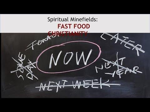 CCF Manila Sunday Service 8/6/17 (The Minefield - Fast Food Christian)