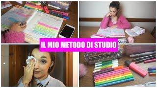 IL MIO METODO DI STUDIO | giuliagreco