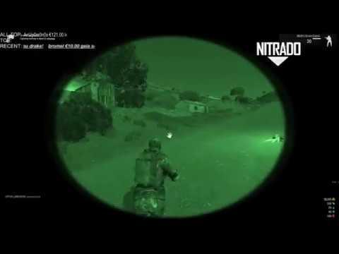 12/17/16 ARMA 3 NEW GREEK SERVER WASTELAND STRATIS-POWERED BY NITRADO [FROM LIVESTREAM] SHOW #10