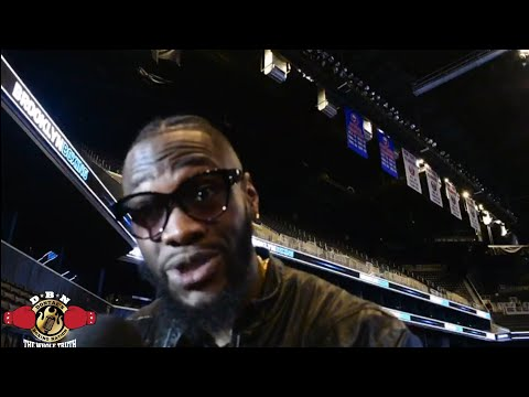 DEONTAY WILDER REVEALS MORE DETAILS ON ANTHONY JOSHUA FIGHT