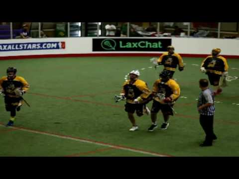 LASNAI Syracuse vs. Team Jamaica | Box Lacrosse Game