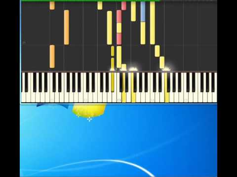 Michael Jackson   Ben [Piano tutorial by Synthesia]