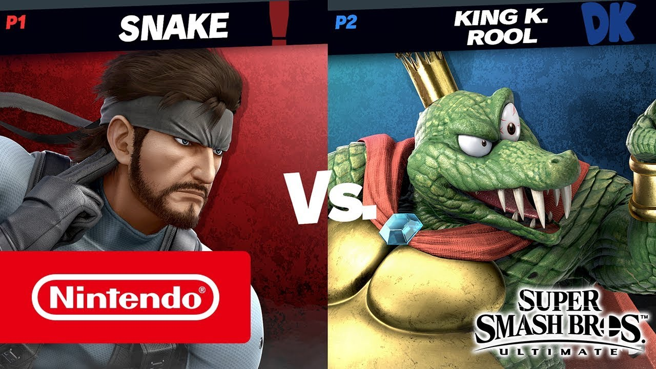 Super Smash Bros. Ultimate – King K. Rool gameplay (Nintendo Switch)