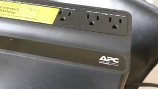 APC Back-UPS 600VA UPS Battery Backup