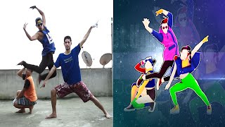 Just Dance Unlimited Get Ugly 5 Stars Gameplay