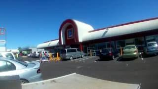 First trip to New Aldi store in Bundaberg.