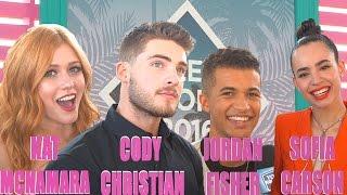 Stars at Teen Choice Awards Obsess Over Justin Timberlake!
