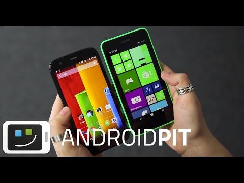 Moto G vs Lumia 630 [COMPARATIVO]