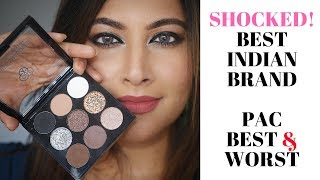 I TRIED INDIAS TOP MAKEUP BRAND PAC COSMETICS BESTSELLERS   MY BEST & WORST  NEW AFFORDABLE MAKEUP