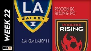 LA Galaxy II vs. Phoenix Rising FC: August 3rd, 2019
