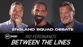 Rio Ferdinand's Between The Lines: England Euro 2020 Squad Debate with Joe Cole and Glenn Hoddle