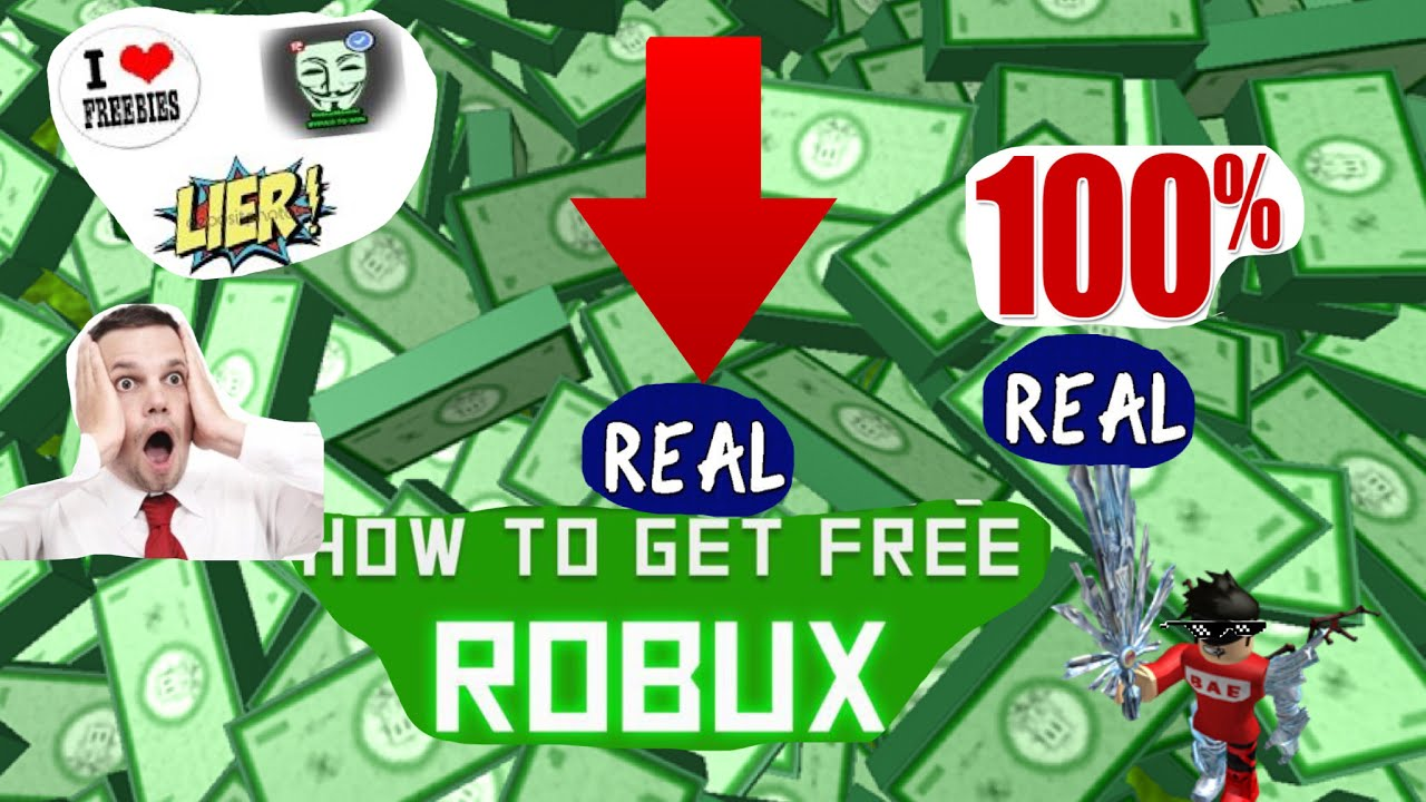 How to get free robux (100%) REAL - YouTube