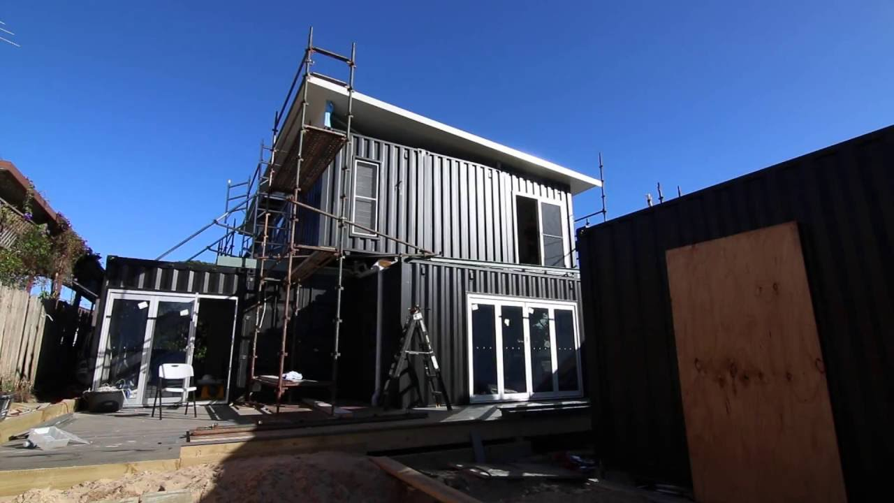 Youtube How To Build A Shipping Container Home