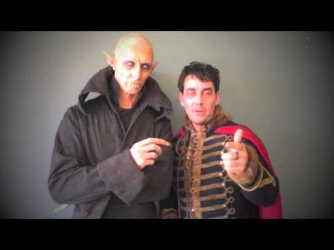 Petyr and Deacon love Massey students | What We Do In The Shadows | Massey University