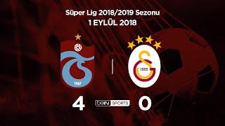 01.09.2018 | Trabzonspor-Galatasaray | 4-0