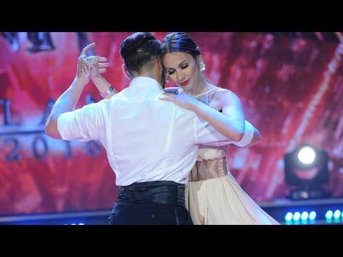 �Pampita no dud� y la rompi� bailando tango!