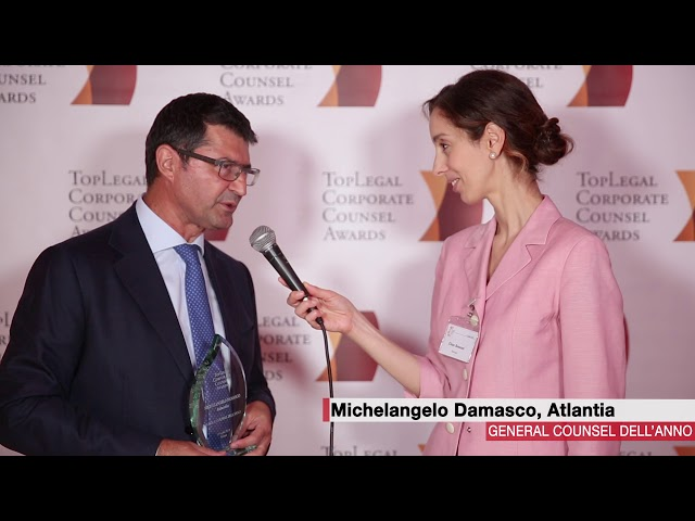 Michelangelo Damasco, Atlantia  - TopLegal Corporate Counsel Awards 2018