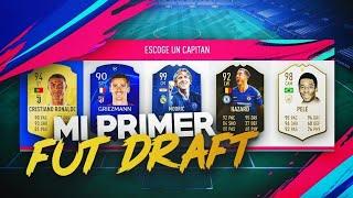 FIFA 19 - EL PRIMER FUT DRAFT
