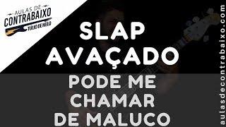 SLAP SOLO NO BAIXO - PODE ME CHAMAR DE MALUCO - David Quinlan [Bass Cover] Resimi
