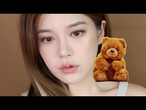 요즘 끌리는 베이지 브라운 메이크업 🐻 Beige brown makeup! 🐻