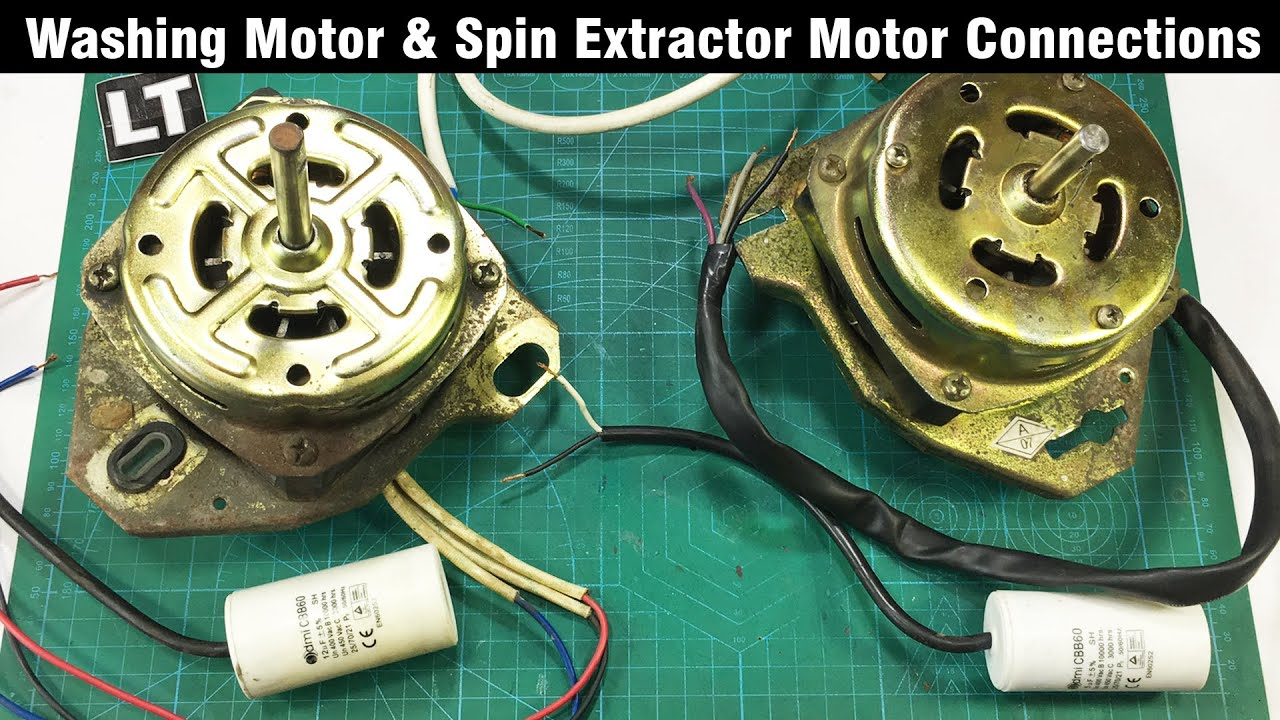 Washing Machine Motor 230v Wiring Connections