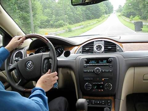 2010 Buick Enclave CXL Start Up, Test Drive, and Review ...