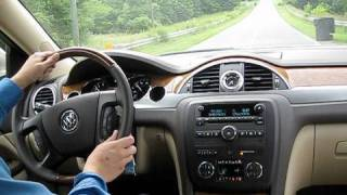 2010 Buick Enclave CXL Start Up, Test Drive, and Review