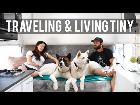 Minimalist Living | Off Grid Tiny House, Traveling With A Dog & Full Time RV Living