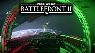 Star Wars Battlefront 2 - Ultra Realistic Space Battles! First Person No Hud Gameplay!