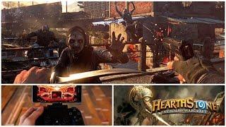 Игровые новости за 29 октября | Dying Light, Plague Inc, Hearthstone