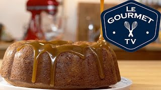 Ginger Spice Bundt Cake With Caramel Sauce Recipe - Legourmettv