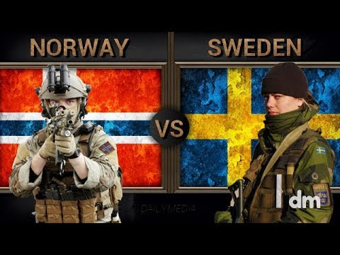 Norway vs Sweden - Army/Military Power Comparison 2018 (Norw