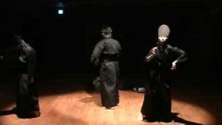 Танец в стиле IDM / Noise dance performance (Myosung)