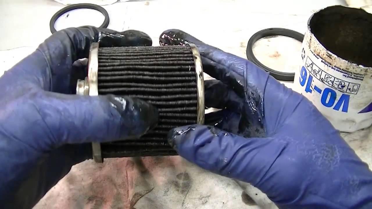 Older Fram And Valvoline Used Oil Filter Inspection