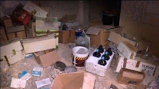 Лаборатория боевиков по созданию химоружия обнаружена в Сирии: эксклюзивные кадры