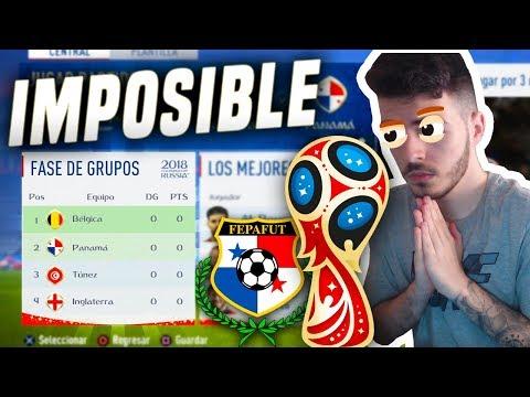 RETO IMPOSIBLE   GANAR EL MUNDIAL CON PANAMA   FIFA 18 World Cup #1