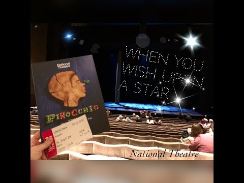 Pinocchio Theatre Vlog ~ Part 2 of my 2 show day in London
