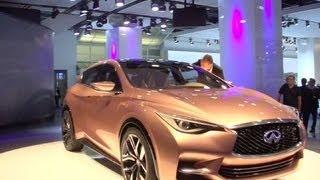 Infiniti Q30 Concept 2013 Videos