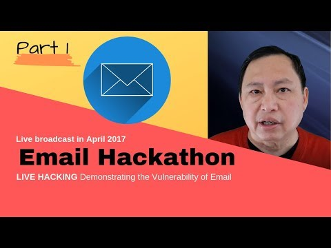 Email Hackathon - Part 1 - Email Is In Plain Text And Kills Your Internet Privacy
