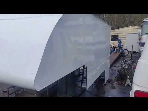 DIY Steel Frame slide-in Truck Camper part 1